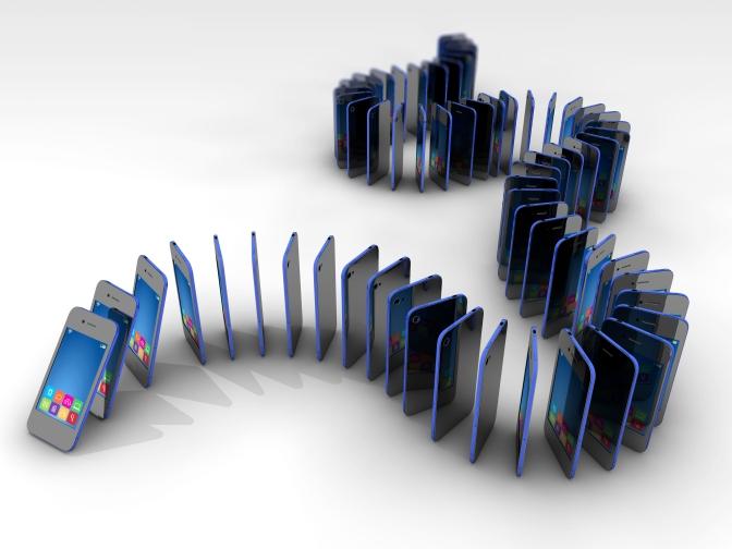 Domino Effect of Social Media