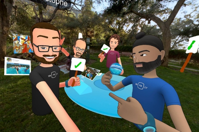 4. Socializing the VR way
