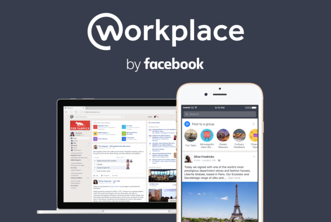 7. Facebook Workplace